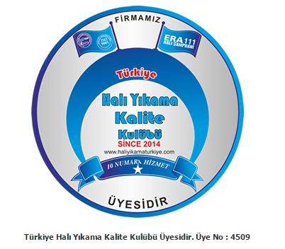 Halı Yıkama Türkiye Kalite Kulübü üyesidir.